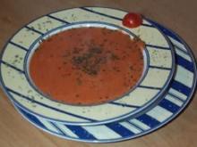 Pikante Tomatencreme Suppe - Rezept