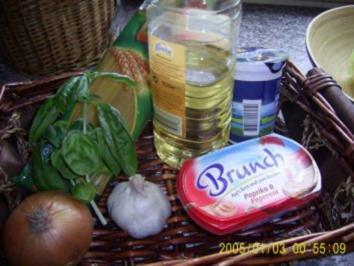 Spagetti mit pikanter Paprikasoße - Rezept