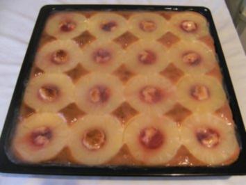 BLECHKUCHEN - Ananaskuchen - Rezept