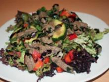 Mojito-Steak-Salat - Rezept
