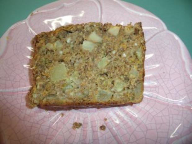 Saftiger Apfel Zucchini Karotten Kuchen Rezept Kochbar De