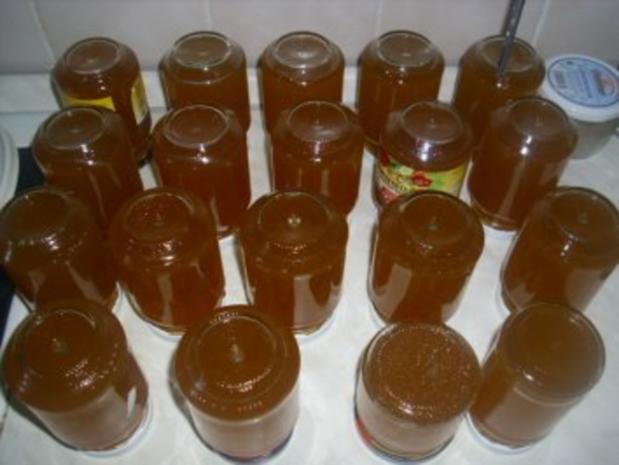 Hollundergelee mit Orangensaft - Rezept - Bild Nr. 4