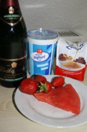 Erdbeer-Melone-Smootie - Rezept - Bild Nr. 2