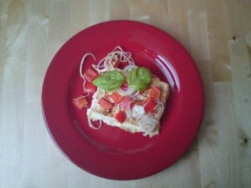 Überbackener Feta-Käse mit Paprika - Rezept