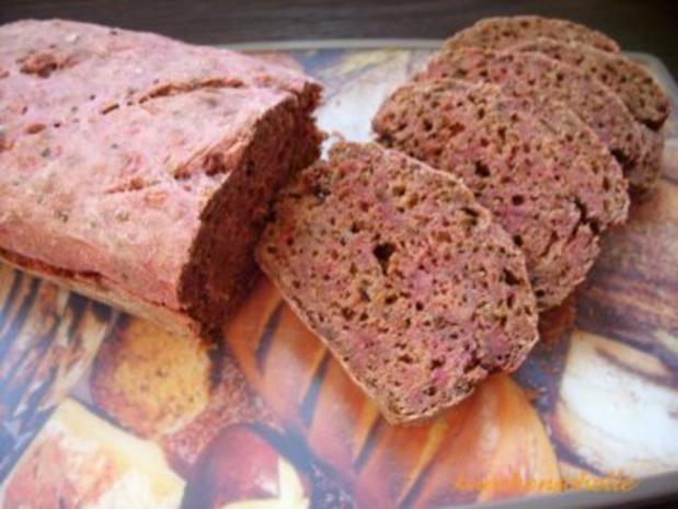 Rote Beete Brot - Rezept - Bild Nr. 2