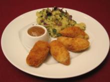 Weißwurstradeln an Kartoffelsalat mit Wildkräutern - Rezept