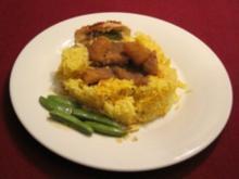 Naalems Chicken Curry mit Safran-Basmatireis - Rezept