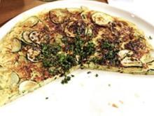 Zucchini-Frittata mit Sonnenblumenkernen - Rezept