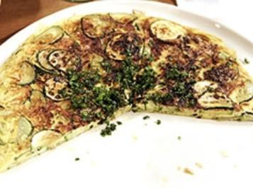 Rezept: Zucchini-Frittata mit Sonnenblumenkernen