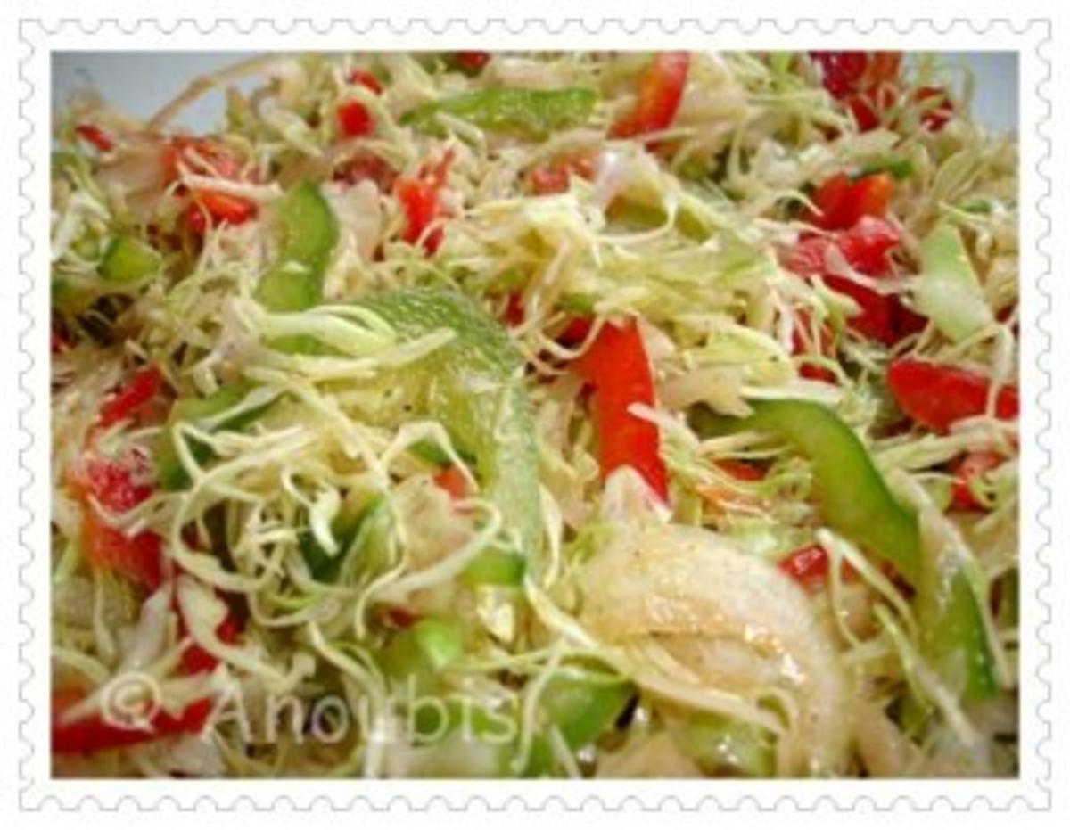 Salat - Spitzkohlsalat - Rezept von Anoubis