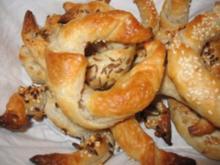 Mini-Dinkelblätterteig-Hörnchen - Rezept