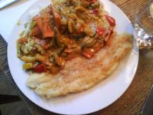 Gemüse-Curry an Pangasiusfilet - Rezept