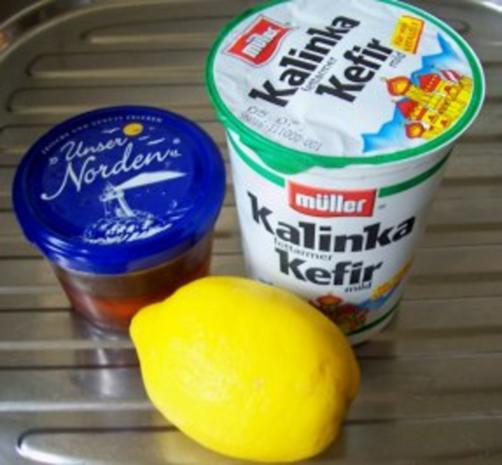 Getränk: Zitronen-Kefir - Rezept