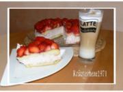 Endlich Sommer- Erdbeerzeit- Erdbeertorte a la Kräuterhexe - Rezept