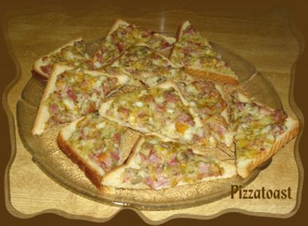 Pizza Toast - Rezept