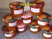 Aprikosenkonfitüre mit Chili - Rezept