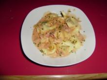 Blitz Käsesoße in rosarot - Rezept