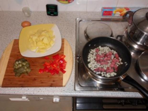 Bratkartoffel mit Resten - Rezept - Bild Nr. 3