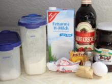 Muffins: Kirsch-Marzipan-Häufchen - Rezept
