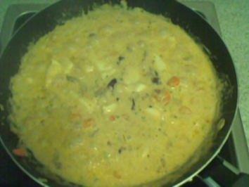 Fisch-Curry mit Gemüse - Rezept