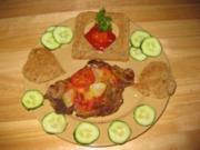 ♥Herzhaftes Tomaten-Zwiebel-Schnitzel♥ - Rezept