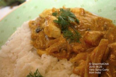 Mein Indisches Curry (mit Bildern und Raupi) - Rezept