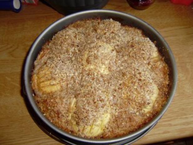 Pecannuss-Apfelkuchen - Rezept
