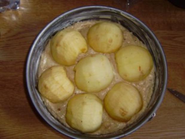 Pecannuss-Apfelkuchen - Rezept - Bild Nr. 3