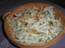 Kohlrabi - Apfelsalat - Rezept