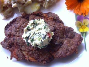 Rezept: Wildkräuterbutter zum Grillen