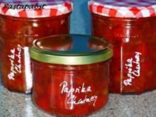 Paprika-Chutney - Rezept
