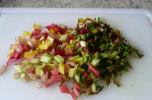 Salate: Warmer Nudel- Möhren- Mangoldsalat - Rezept - Bild Nr. 4