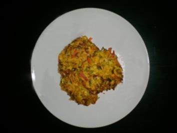 Gemüserösti mediteran - Rezept