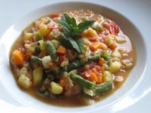 Afrikanische Gemüsesuppe - Rezept