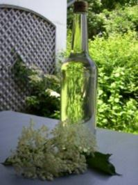 Holunderblütenschnaps - Rezept