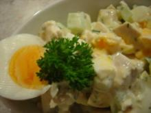 Hähnchenbrust-Salat mit Galia-Melonen... - Rezept