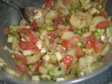 Kartoffelsalat-Gemüsesalat -vegetarisch - Rezept