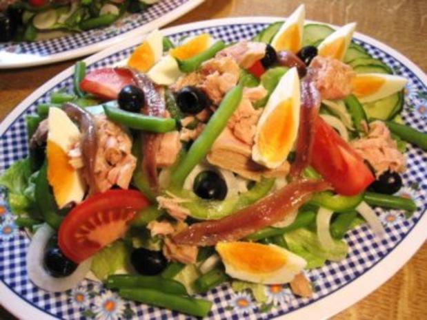 Mediterrane Salatplatte ... - Rezept - Bild Nr. 5