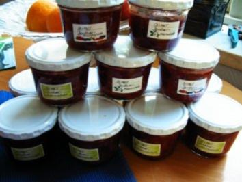 Rezept: Diät -Erdbeer- Marmelade