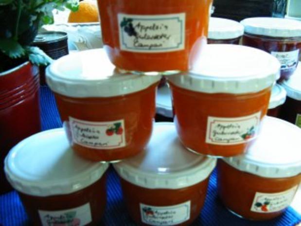 Orangen- Möhren- Marmelade mit Campari - Rezept
