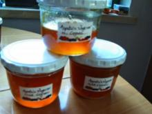 Orangen-Ingwer-Marmelade mit Cognac - Rezept
