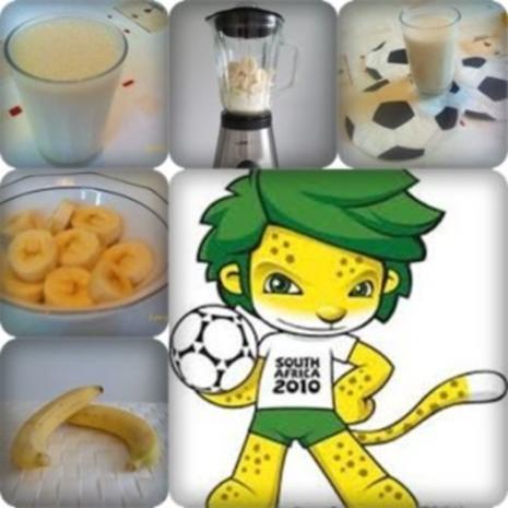 WM  2010 :  Banane – Kefir Cocktail - Rezept - Bild Nr. 3