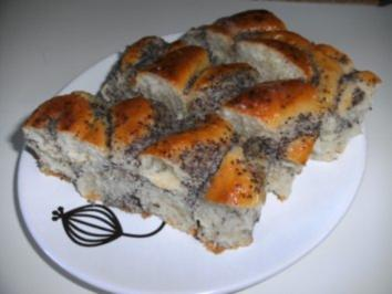 Rezept: Hefe-Mohnkuchen