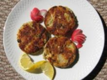 Kräuter Fisch Frikadellen - Rezept