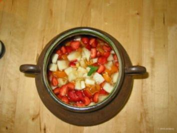 Bowle - sommerlich, leicht und fruchtig - Rezept