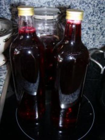 Johannisbeer-Sirup - Rezept