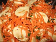 Möhren-Mozzarella-Salat - Rezept