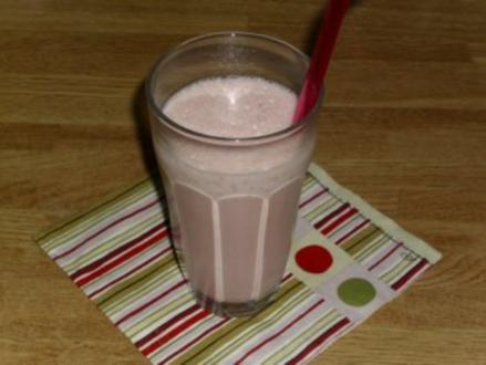 Erdbeer-Eis-Shake - Rezept