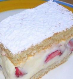 Erdbeer Schnitten - Rezept