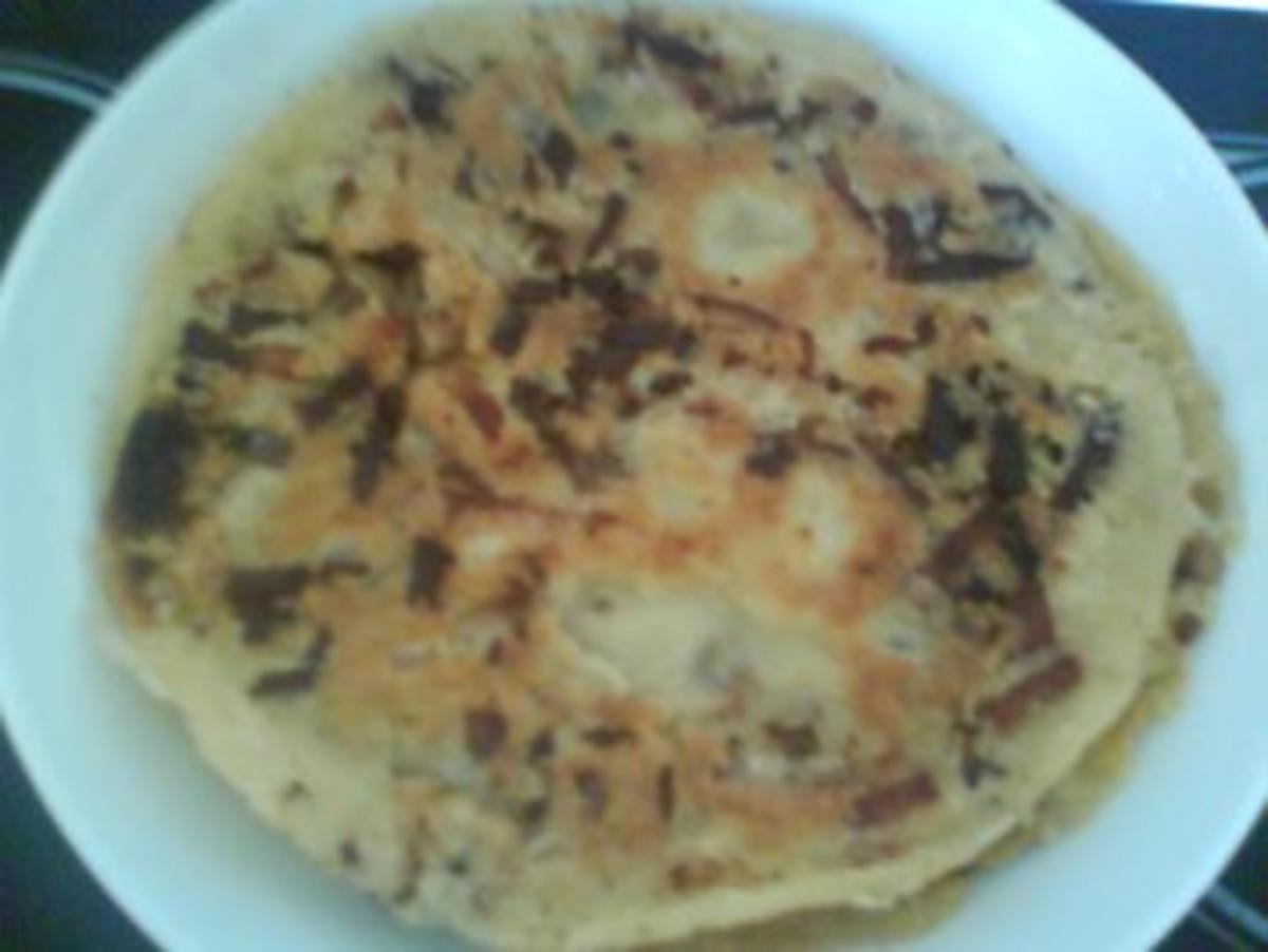 Bilder für Bierpfannkuchen mit Eier und Mehl Rezept